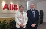 与ABB公司签约