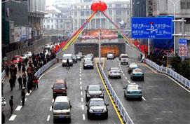 武汉长江隧道